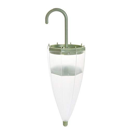 NO LOGO XW-GZJ, Mini-Regenschirm Feuchtigkeitsabsorber Box Haushalt Ersetzt Garderobe Box mit trocknendes Reinigung Luftentfeuchter Werkzeugen (Color : Green)