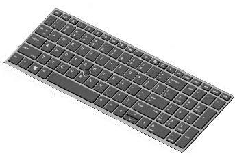 HP Keyboard SR BL 15 RUS, L14366-251