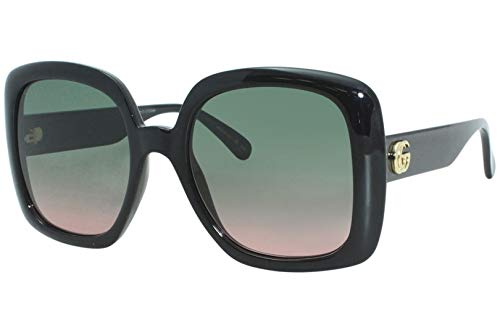 Gafas de Sol Gucci GG0713S Black/Green Pink Shaded 55/21/140 mujer