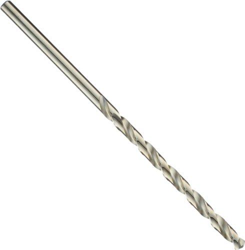 Precision Twist M51CO Cobalt Steel Long Length Bit, Bronze Oxide Finish, Round Shank, Spiral Flute, 135 Degree Point Angle, 35/64'