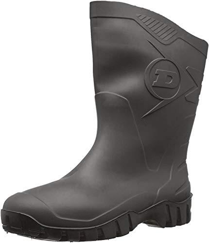 Dunlop Protective Footwear Unisex-Erwachsene Dee Gummistiefel, Schwarz, 43 EU