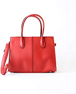 Lenz Top Handle Bag For Women, Red, AM19-B045
