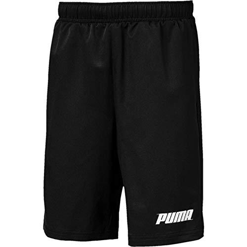 Puma Rebel Woven Shorts Shorts Enfant Puma Black FR : XS (Taille Fabricant : 164)