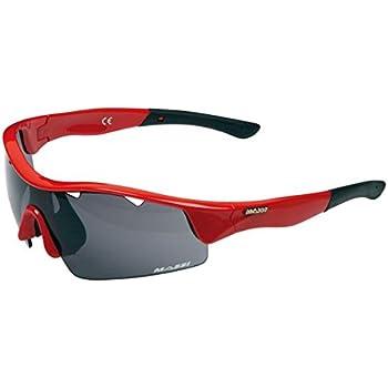 Massi Mito - Gafas de Ciclismo Unisex, Color Rojo: Amazon.es: Zapatos y complementos