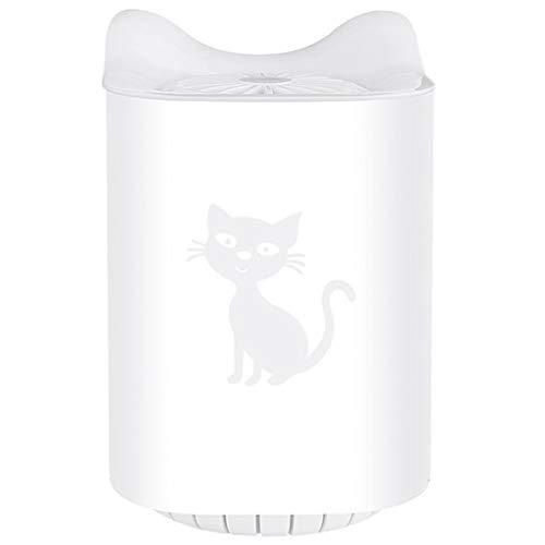 MERIGLARE Lámpara para Matar Mosquitos, Luz de Trampa UV Eléctrica para Jardines - 11x17cm_Blanco