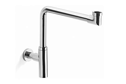 Design Sifone salvaspazio adatto per Alpi smalto® lavabo/Piletta di scarico