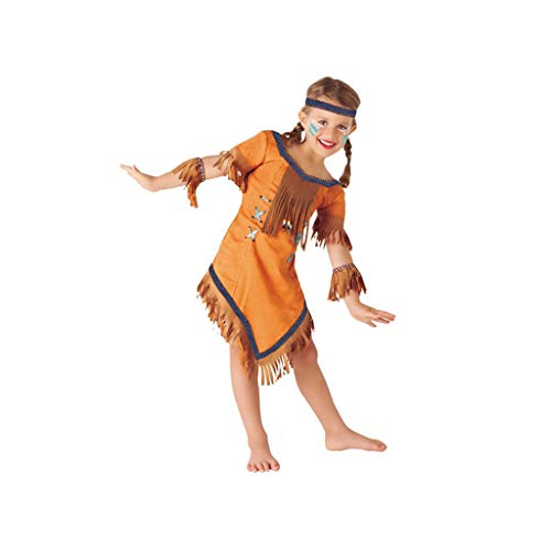 Rubies- Disfraz de indio Cherokee, S (3-4 años) (Rubie's Spain S8423-S)