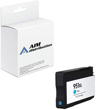 AIM Compatible Replacement for HP NO. 951XL Cyan Inkjet (1500 Page Yield) (CN046AE) - Generic