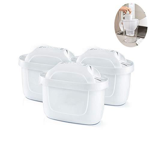 XuBa - Juego de 4 filtros para purificador de Agua, hervidor de Agua para BR-ita