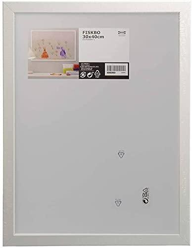 Ikea - Marco para fotografías Fiskbo (30 x 40 cm), color blanco