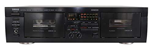 Yamaha KX-W 282 Doppelkassettendeck in schwarz