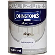 Johnstone's All Purpose Undercoat provides a tough and durable base coat for interior and exterior wood and metal, designed to enhance the quality and finish of Johnstone's gloss and satin products Coverage: 17m2 (metres squared per litre) Touch dry:...