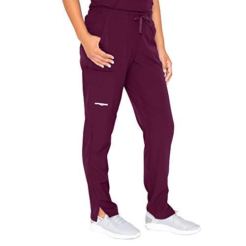 BARCO Skechers Vitality Women's Charge 4-Pocket Scrub Pant - Wine, XL