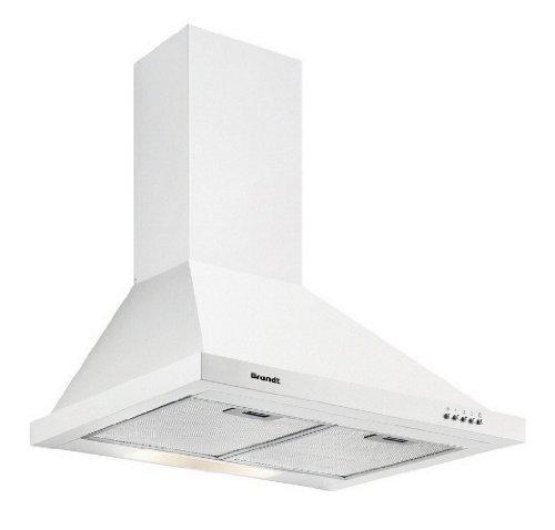 Brandt AD1006W Hotte Intégrable 60 cm 600 m³/h Blanc