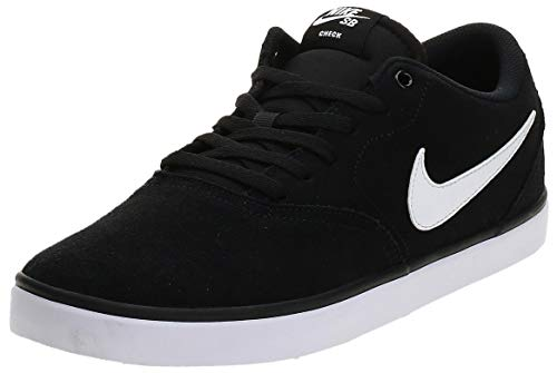 Nike Sb Check Solar, Scarpe da Skateboard Uomo, Nero (Black / White), 45.5 EU