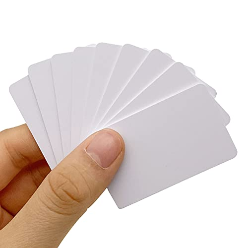 NFC Tags 11PCS NTAG215 NFC Cards Mini Size 100% Compatible with Amiibo and TagMo, Blank PVC Cards Much Smaller Than Credit Card, Size: 1.97 X 1.18 inches,5 X 3CM, by Timeskey NFC