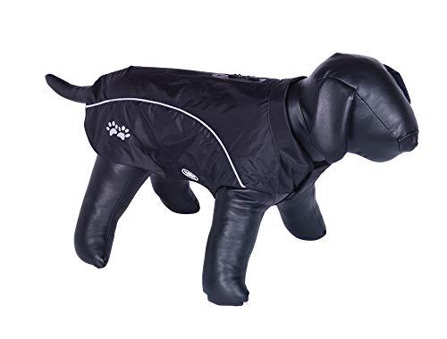 Nobby 65274 Laika - Abrigo para Perros (80 cm), Color Negro