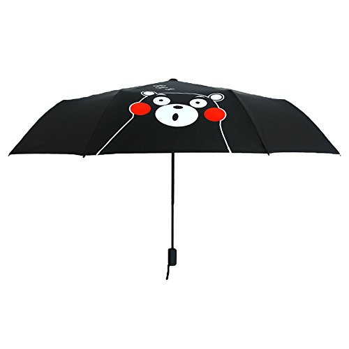 TYJKL Tragbarer Klappschirm Folding Umbrella Kompakter beweglicher Sonnenschutz und UV-Schutz-Reisen Parasol Winddicht
