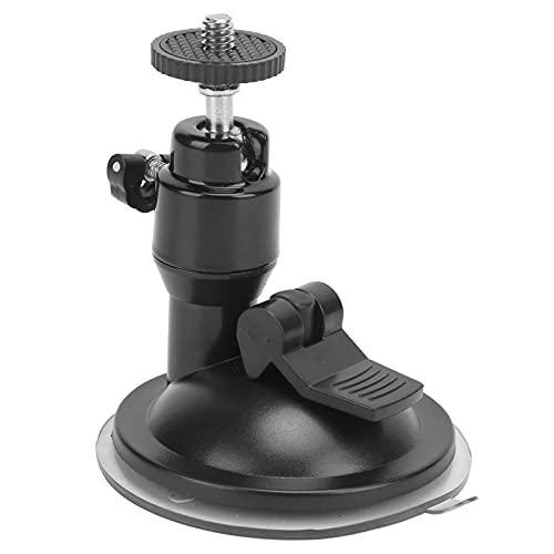 Ventosa para automóvil, buena capacidad de adsorción Accesorio básico Mejor uso Sensación para cámaras(black)