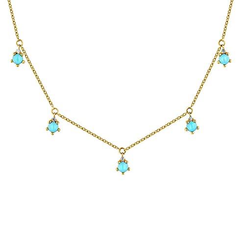 925 Sterling Silver Long Chain Necklace Colgante Alas Plata Recubierta Volver Collarecolgantes Collar Piedras Jewelry Goldchoker-2