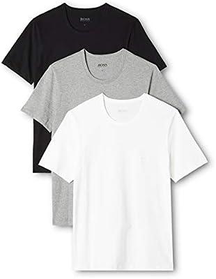 New Mens BOSS  Bodywear T-Shirt 3 Pack Assorted