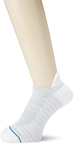 Stance Mens Fusion Athletic Uncommon Solids Tab Socks - Sports No Show, Large