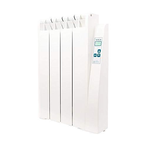 farho Radiador Bajo Consumo Tessla Ultra 660W (4) · Emisor Termico con Termostato Digital Programable 24/7 · Radiadores Electricos · Acumulador de Calor hasta 10m² · 20 AÑOS DE GARANTÍA