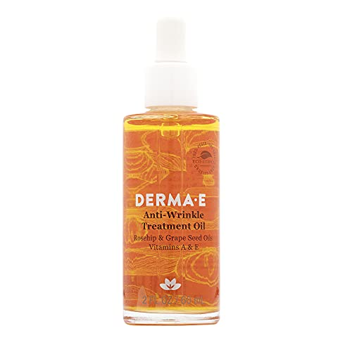 DERMA E Anti-Wrinkle Treatment Oil with Vitamin A and Vitamin E 2oz