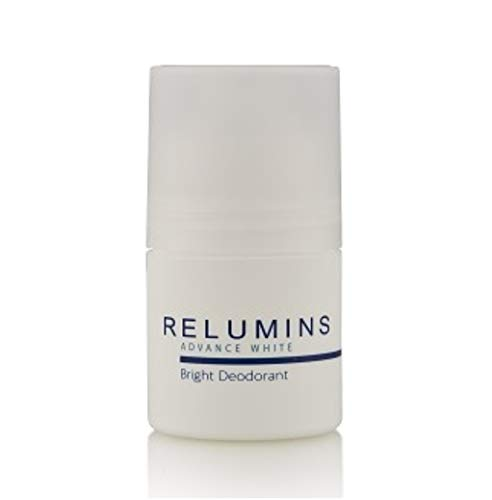 Authentic Relumins Advance White Bright antipe rspirant Roll-On - Whitening Déodorant Provides 24 Hour Protection Against Odor, Coffre-fort and Gentle