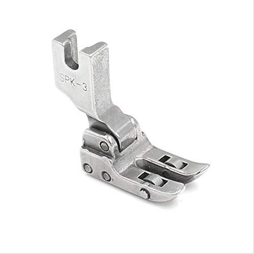 LQKYWNA Prensatelas para Máquina De Coser SPK-3, Prensatelas Universal con Rodillo De Rodamiento Accesorios para Equipos De Costura Adecuado para Máquinas De Coser Industriales De Cuero