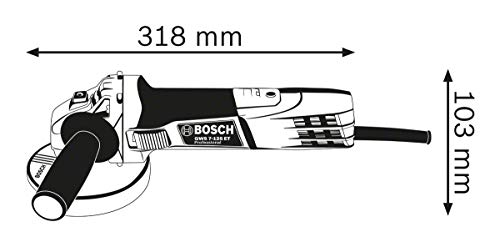 Bosch Professional Winkelschleifer GWS 7-125 - 3
