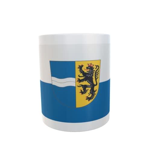 U24 Tasse Kaffeebecher Mug Cup Flagge Rhein-Neckar-Kreis