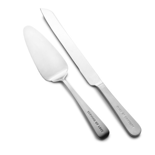 Towle Living 5126661 Express 2-Piece Dessert/Cake Server Set