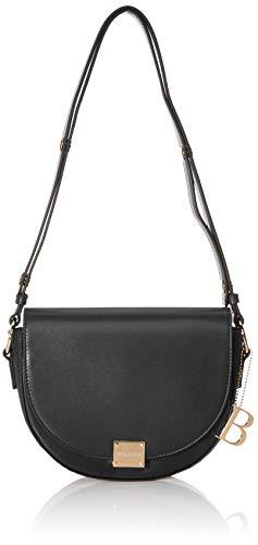 Bulaggi Kayla Half Moon Bag - Borse a zainetto Donna, Nero (Schwarz), 06x19x22 cm (B x H T)