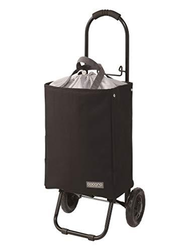 レップ(REP) ショッピングカート ブラック/ホワイト 容量22L カートにかけられる 保冷 買い物 COCORO(コ・コロ)? 464823