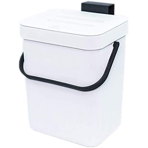 HUANGDANSEN Food Bin Kitchen Compost Bin, Countertop Sink Compost, Indoor Household Trash Can with Sealed Lid