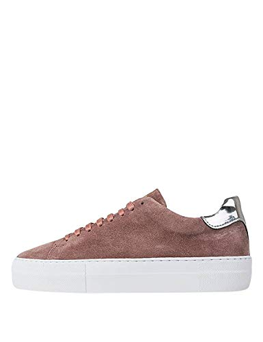Jim Rickey Women's Pulp - Cow Suede Sneakers Pink in Size 40