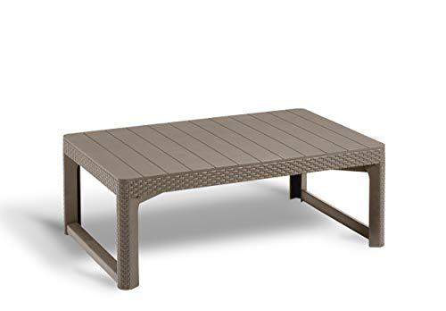 Allibert Lyon tafel 116 cm, cappuccino