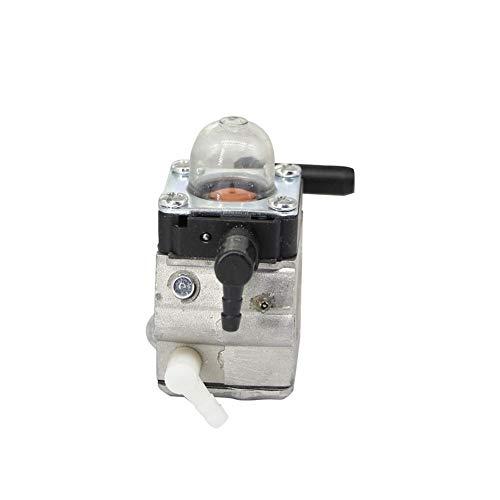 Dafengchui For el carburador Stihl MM55 MM55C timón Zama Carb C1q-S202A con válvula de Bomba de cebado OEM # 4601-120-0600 (Color : Silver)