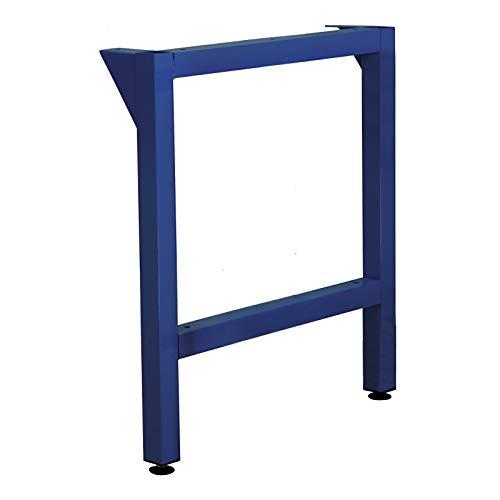 ADB Werkbankfuß T700 mm versch. Höhen in RAL 7035   5012, Farbe (RAL):Lichtblau (RAL 5012);Höhe:850 mm
