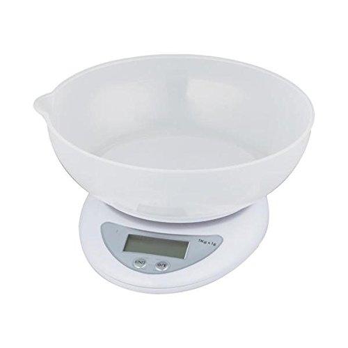 Balanca Digital para Cozinha Mede Volumes de Liquidos 5KG SF-420