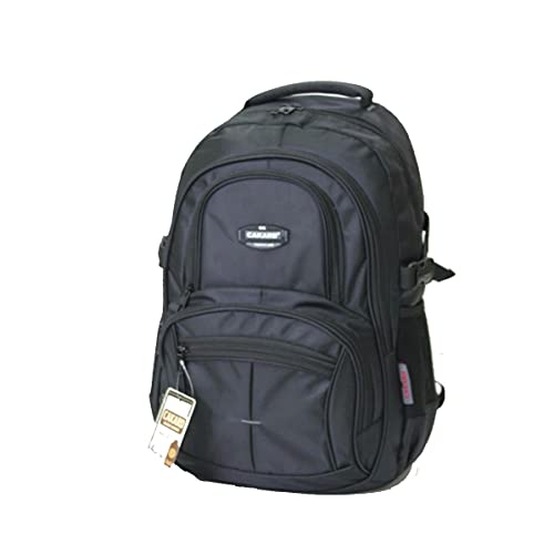 Cakard 4001 Rucksack   Backpack Daypack Damen   Wanderrucksack   Schulrucksack Jungen   Sportrucksack Herren, Damen Und Teenager   Laptop 15 Zoll   Wasserdichter Rucksack   (Schwarz)