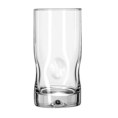 Libbey Crisa Impressions 16-Ounce Cooler Glass, Box of 12, Clear