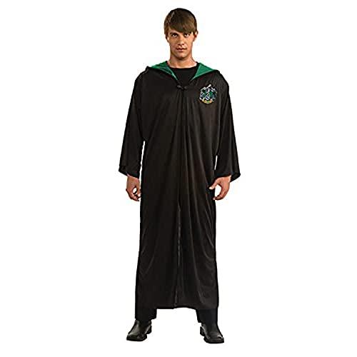 HARRY POTTER Rubie s Costume Serpeverde Slytherin adulto (889968-STD), nero, taglia unica