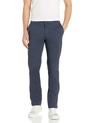 Marchio Amazon - Goodthreads, The Perfect Chino Pant, pantaloni chino elasticizzati, da uomo, aderenti, effetto lavato, comodi, Marina Militare, 40W / 38L