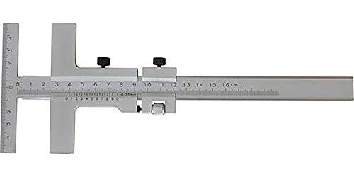 MIB Präz. Anreissschieblehre rostschutz verchromt 250x140 mm, mit Feineinst. 1006004