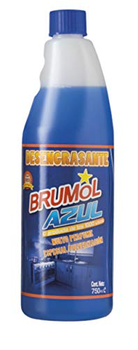 Brumol Desengrasante Azul Recambio - Paquete de 15 x 750 ml - Total: 11250 ml