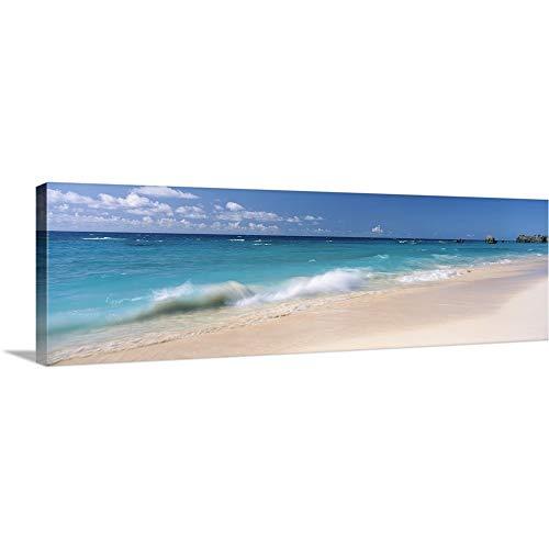Waves in The Ocean, Warwick Long Bay, Canvas Wall Art Print, Coastal Artwork