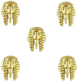 指のつま先のための金属のエジプトパターンのマニキュアの宝石類の宝石類