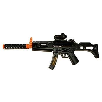 LilPals  29 Inch Toy Machine Gun Rifle - with Dazzling Light Amazing Sound & Unique Action  Battery Powered